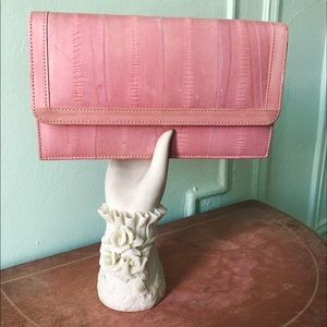 💕Vintage dusty pink hand purse💕